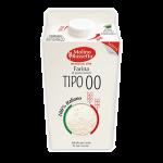 """Farina di grano tenero """"00"""" brik 750g Molino Rossetto"""