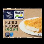 Filetti di merluzzo croccante 240g Frosta