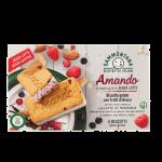 Biscotto Gelato ai frutti di bosco s/latte e s/glutine c/latte di madorla conf.4pezzi 208g Sammontan