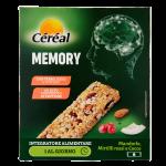 Cereal barrette memory mandorle,mirtilli rossi e cocco 6 pezzi 186g
