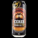 Birra Strong Ale doppio malto chiara lattina 50clCeres