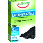 Carbone vegetale 50 compresse 40g Equilibra
